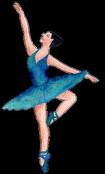 Ballet, Ballerina, Art, Watercolor, Dancing, Drawing