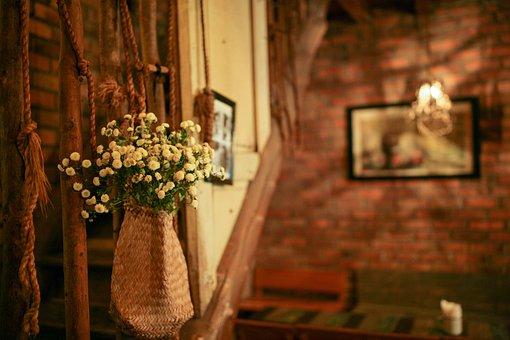 Flowers, Decoration, Interior Design, Display, Indoors