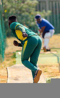 Cricket, Sport, Throwing, Player, Athlete, Pitch, Match