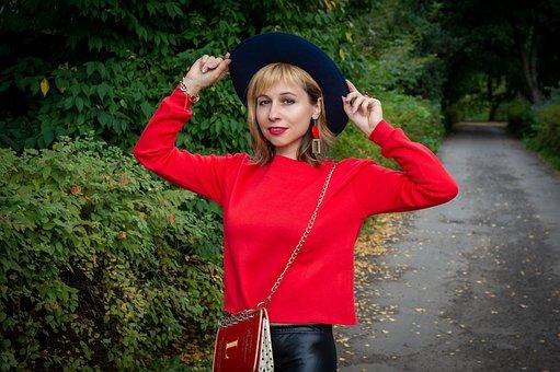 Woman, Model, Portrait, Pose, Style