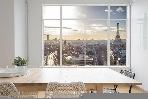 Room, Window, View, Interior, Table, Chairs, Furniture