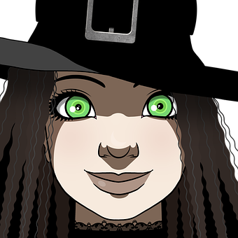 Witch, Halloween, Child, Kid, Girl, Fantasy, Occultism