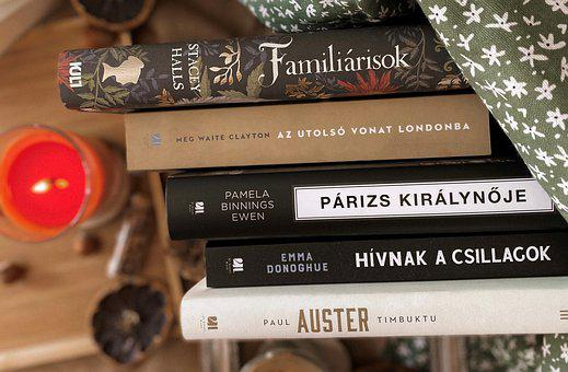 Books, Literature, Reading, Novel, Fiction, Stack