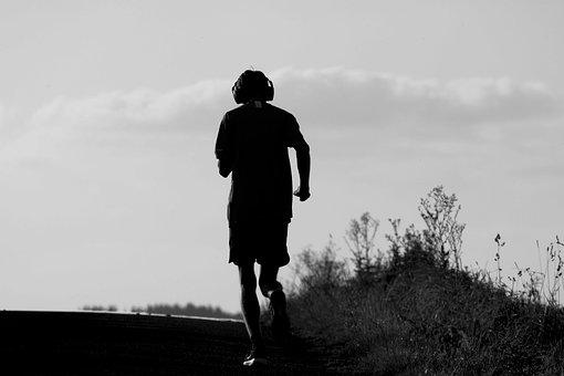 Jogging, Jogger, Runner, Running, Sports, Walking