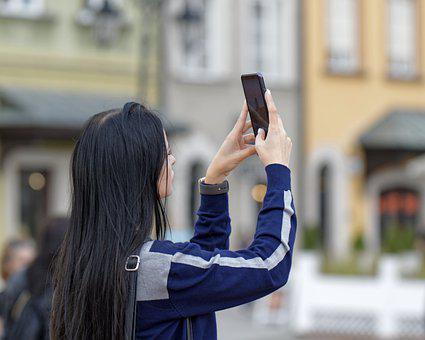 Woman, Technology, Photography, Cellphone, Electronic