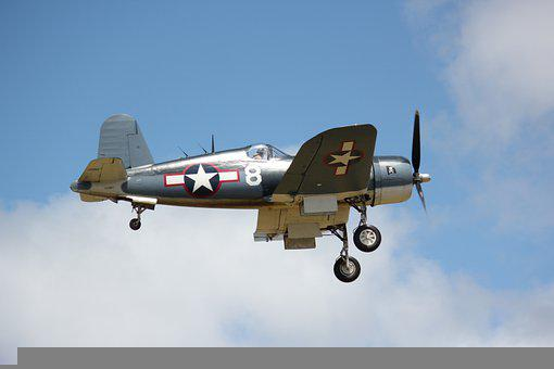 Corsair, Warbird, Fighter Plane, Airplane, Aircraft