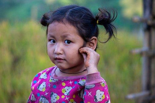 Child, Girl, Vietnamese, Kid, Little Girl, Childhood