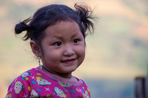 Child, Girl, Vietnamese, Smile, Kid, Little Girl