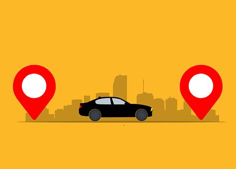 Taxi, Location, Destination