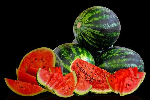 Watermelon, Fruits, Food, Fresh, Healthy, Ripe, Organic