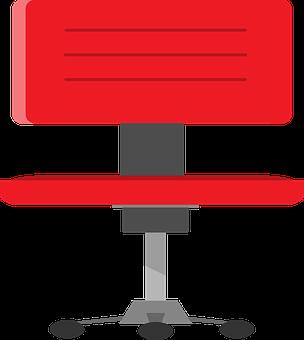 Chair, Office, Seat, Furniture, Armchair, Cutout