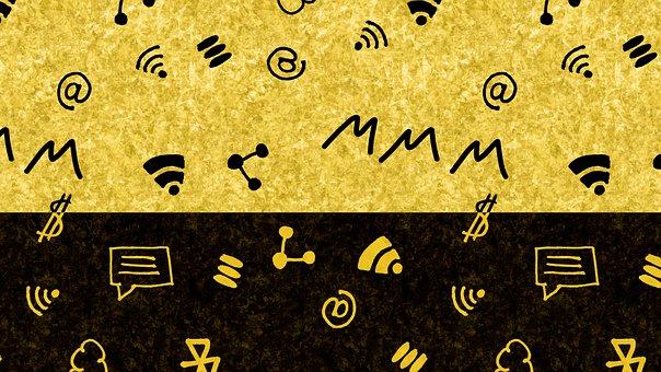 Wifi, Internet, Doodle, Pattern, Www, E Commerce