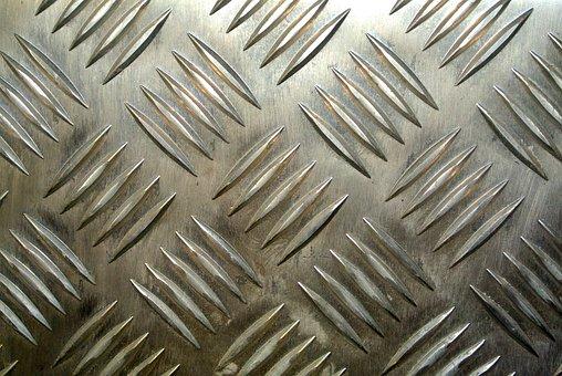 Corrugated Sheet, Sheet, Metal, Texture, Background