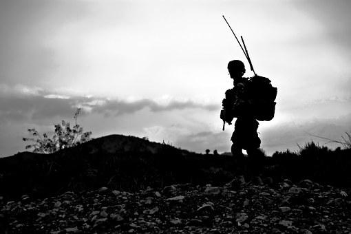 Soldier, Military, Uniform, Armed, Combat-ready, Battle