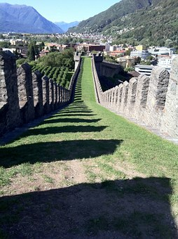 Castelgrande, Bellinzona, Switzerland, Castle, Fortress