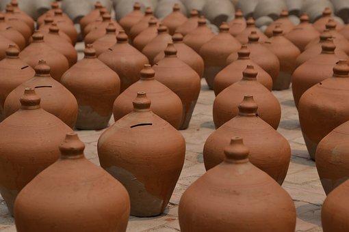 Krug, Vessel, Ceramic, Pots, Craft, Container, Fragile