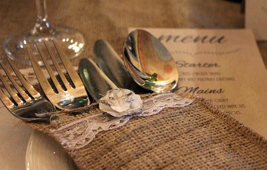 Cutlery, Cutlery Case, Wedding Table, Prepare