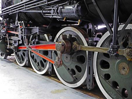 Steam Locomotive, Drive, Chassis, Drive Rod