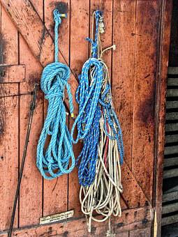 Rope, Hdr, Wooden Doors, Giżycko, Fishing Farm