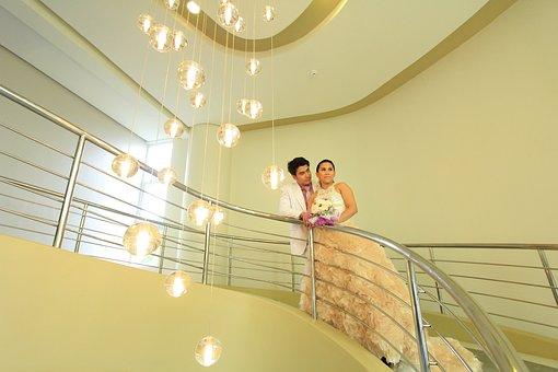 Couple, Wedding, Hotel, Bride, Love, Groom, Young