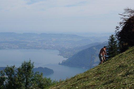 Mountains, Lake Lucerne Region, Inner Switzerland
