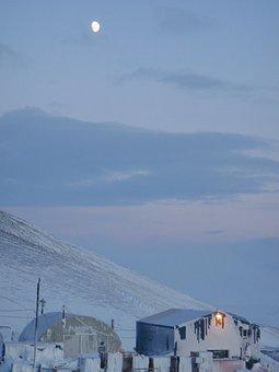 Berg, Field, Center, Antarctica, Ross, Island