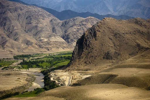 Afghanistan, Mountains, Landscape, Valley, Rocks, Rocky