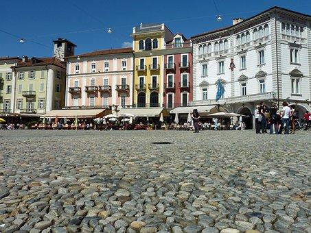 Locarno, Switzerland, Housewife, Cobblestones