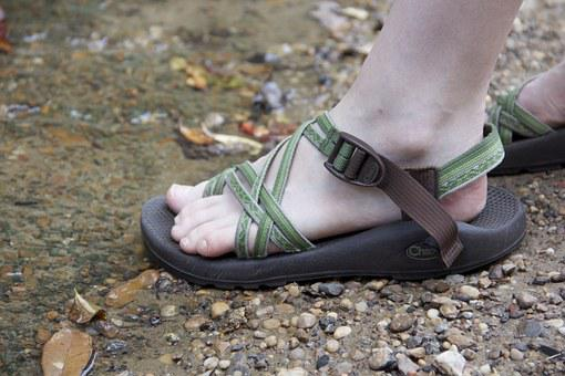 Chaco, Sandals, Adventure, Feet, Shoes, Outdoor, Nature