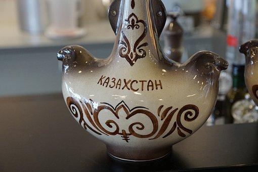 Cup, Kazakhstan, Paint, Craft, Ornament, Drink