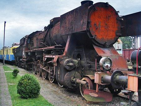 Steam Locomotive, Roundhouse Kościerzyna, Railway