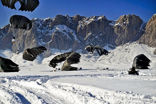 Afghanistan, Landscape, Mountains, Winter, Snow, Ice
