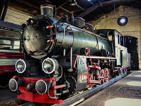 Locomotive, Train, The Roundhouse, The Museum