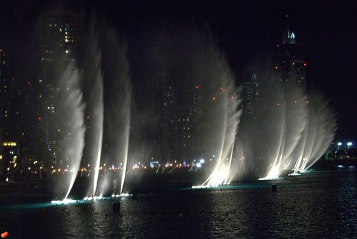 Fountain, Water, Fountain City, Decorative Fountains