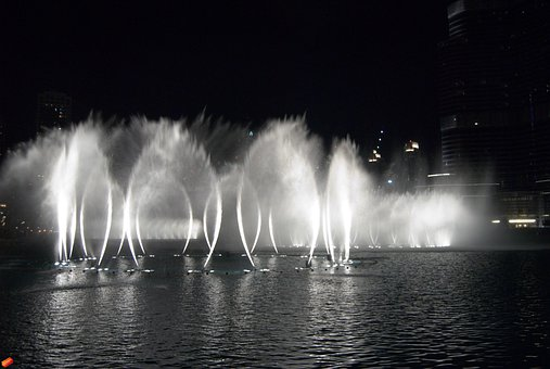 Fountain, Water, Fountain City, Decorative Fountains