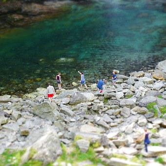 Mountain Stream, River, Ticino, Bathing, Water