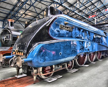 Locomotive, Railway, Tourism, Building, Museum, York