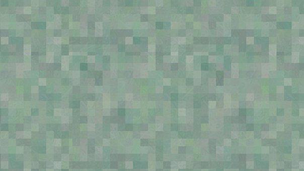 Pixelated Background, Green Background, Modern