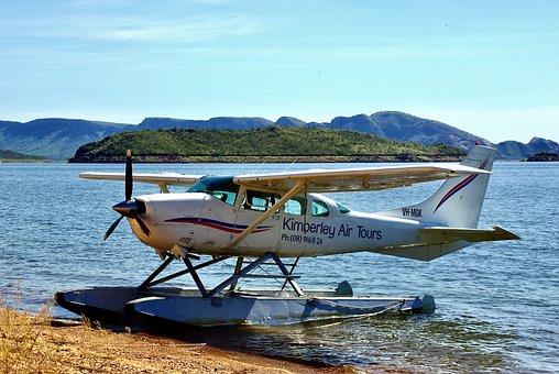 Sea Plane, Aircraft, Sea, Aeroplane, Airplane, Landing
