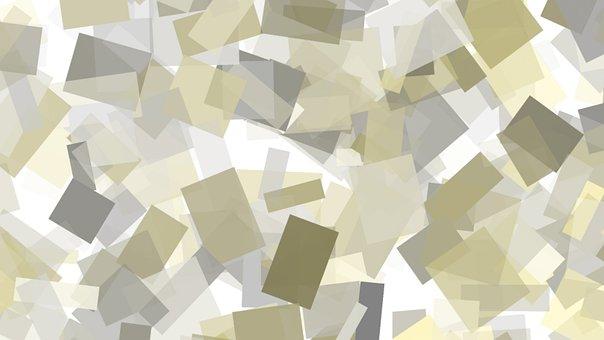 Geometric, Abstract, Pattern, Gray