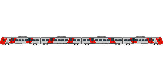 Train, Railway, Railroad, Transportation, Russia