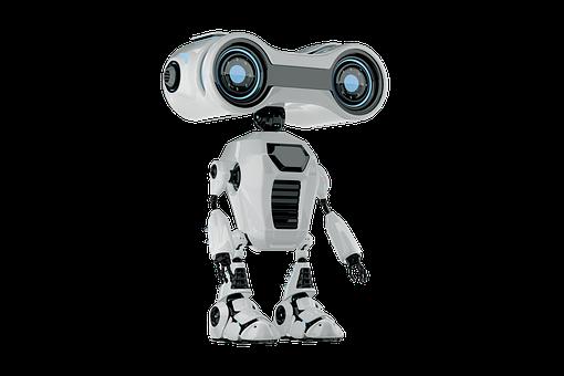 Robot, Machine, Technology, Modern, Futuristic, Cut Out