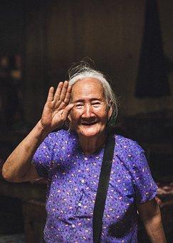 Mother, Woman, Senior, Elder, Old People, High Land