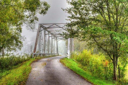 Bridge, Road, Nature, Travel, Exploration, Outdoors