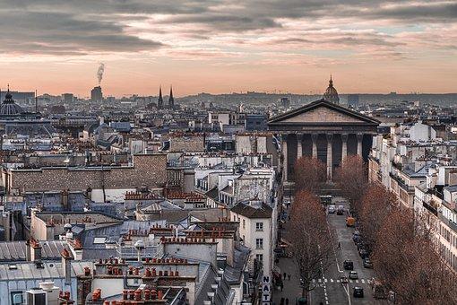 Paris, City, Buildings, Cityscape, Urban, Roofs