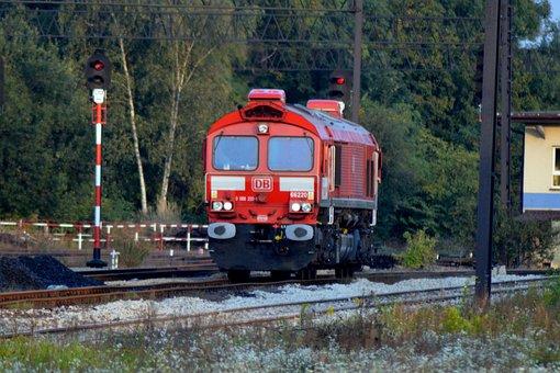 Train, Rail, Locomotive, Railway Station, Road, Gebze