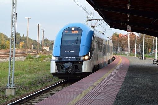 Train, Transportation, Railway Station, Gebze, Travel