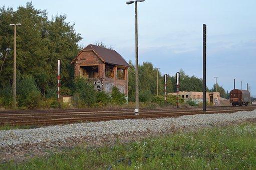 Station, Railway Station, Locomotive, Steam Locomotive
