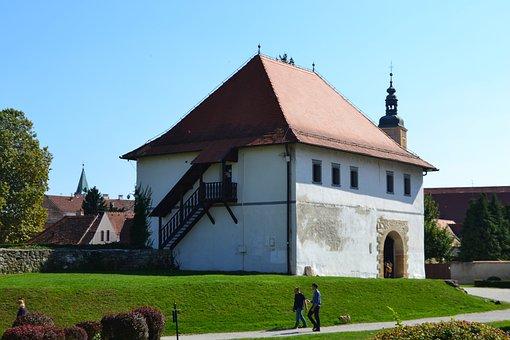 Watchtower, Museum, Varazdin, Croatia, Architecture