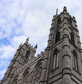 Notre Dame Basilica, Montreal, Church, Architecture